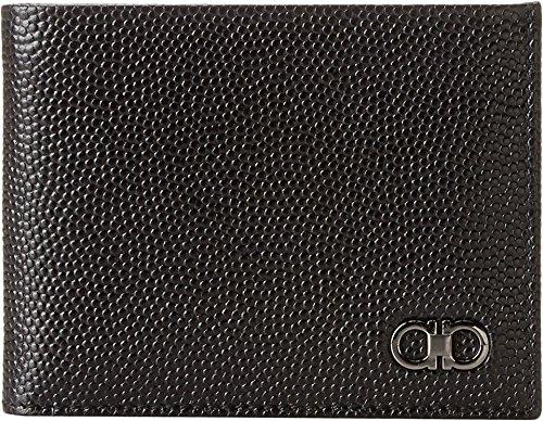 Salvatore Ferragamo Men's Ten-Forty One Bifold Wallet Nero Wallet