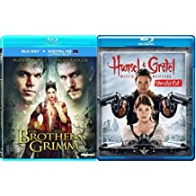 The Brothers Grimm & Hansel & Gretel (Blu-ray) Witch Hunters Modern Fairy Tale set