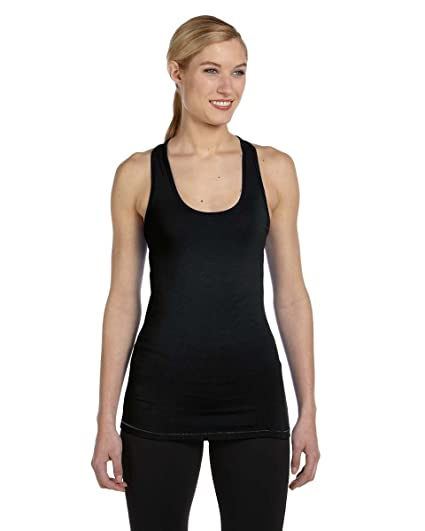 6c3e3f71b36ce Image Unavailable. Image not available for. Color  ALO Sport W2006 - Ladies   Racerback Bamboo Tank