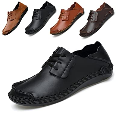 Fashion Casual Men's Shoes Breathable Driving Shoes Business Loafers