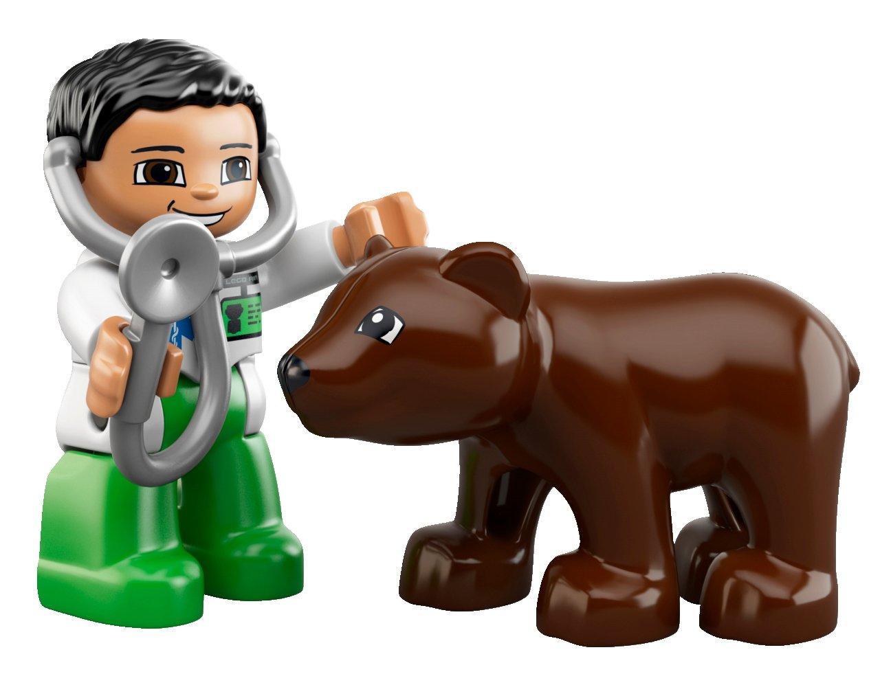 LEGO DUPLO 6158 - La Clínica Veterinaria: Amazon.es: Juguetes y juegos
