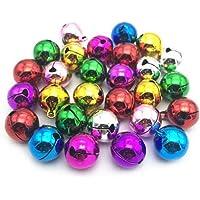 XKJFZ Colorido Mini Color Campanas De Navidad De