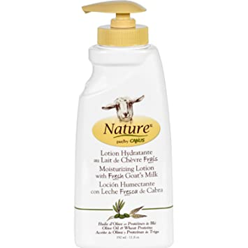 Nature By Canus Lotion - Goats Milk - Nature - Olive Oil Wht Prot - 11.8