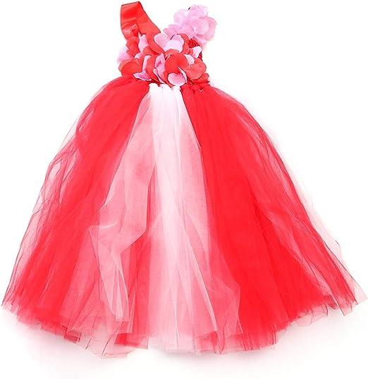 LUOEM Disfraz de princesa de hadas para niñas con vestido de ...