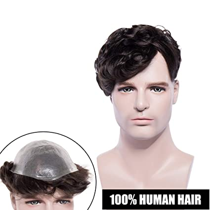 Pelucas Hombre Pelo Natural [Hand-Tied Base: 8