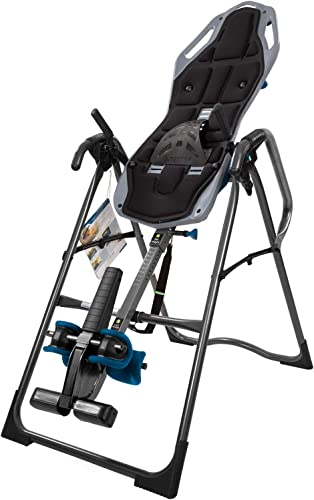 Teeter FitSpine X2 Inversion Table, Extended Ankle Lock Handle, Back Pain Relief Kit, FDA-Registered