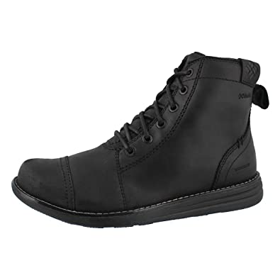 Irvington 6 LTR Boot WP, Bottes Chukka Homme, Noir (Black, Charcoal), 44.5 EUColumbia