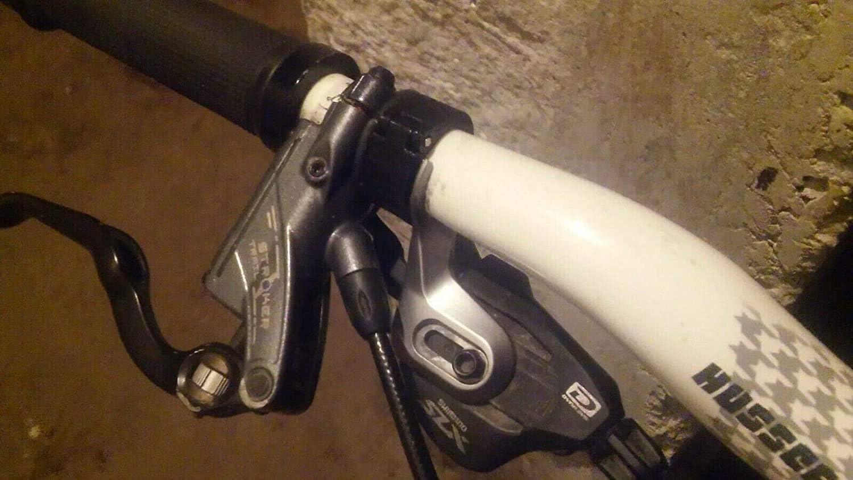 Adaptador de abrazadera para manillar Shimano I-Spec II Style Shifter