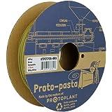 Proto-Pasta 真鍮金属複合HTPLA 3Dプリントフィラメント1.75ミリメートル500G