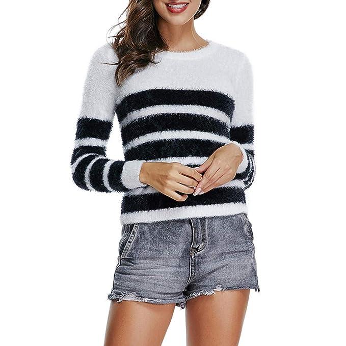 comprare popolare 662a4 d9bdc Maglie Lunghe ASHOP Maglioni Oversize Donna Abbigliamento ...
