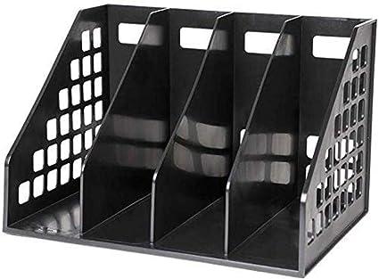 Archivadores de escritorio, archivador, revistero estilo minimalista, caja almacenamiento, almacenamiento: Amazon.es: Oficina y papelería