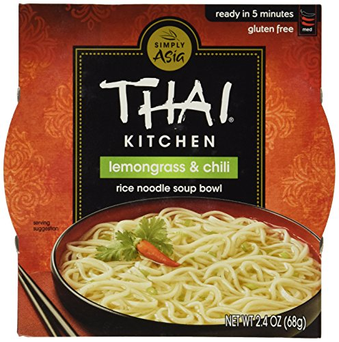 Thai Kitchen Lemongrass and Chili Noodle Bowl, 2.4000-Ounce (Pack of (Thai Kitchen Bowl)