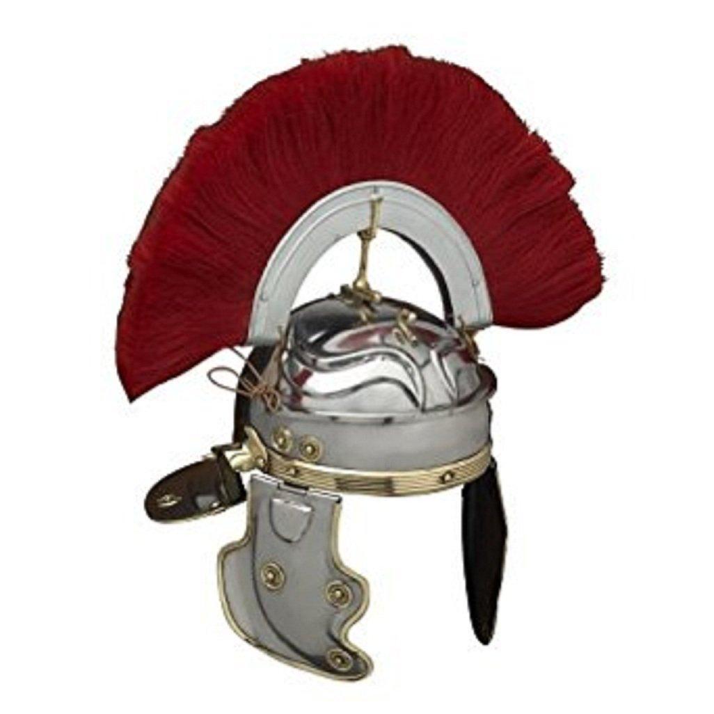 NAUTICALMART Roman Gallic 'G' Centurion Helmet - Metallic Armour by