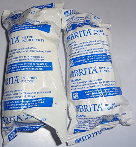 Brita Pitcher Replacement Filter (Pack Of 2) by Brita