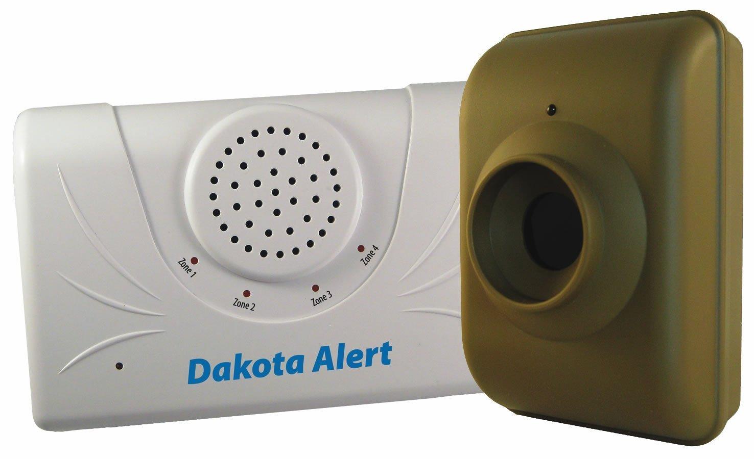 Dakota Alert DCMA-2500 Driveway Motion Alert 2500' Kit (Green White)
