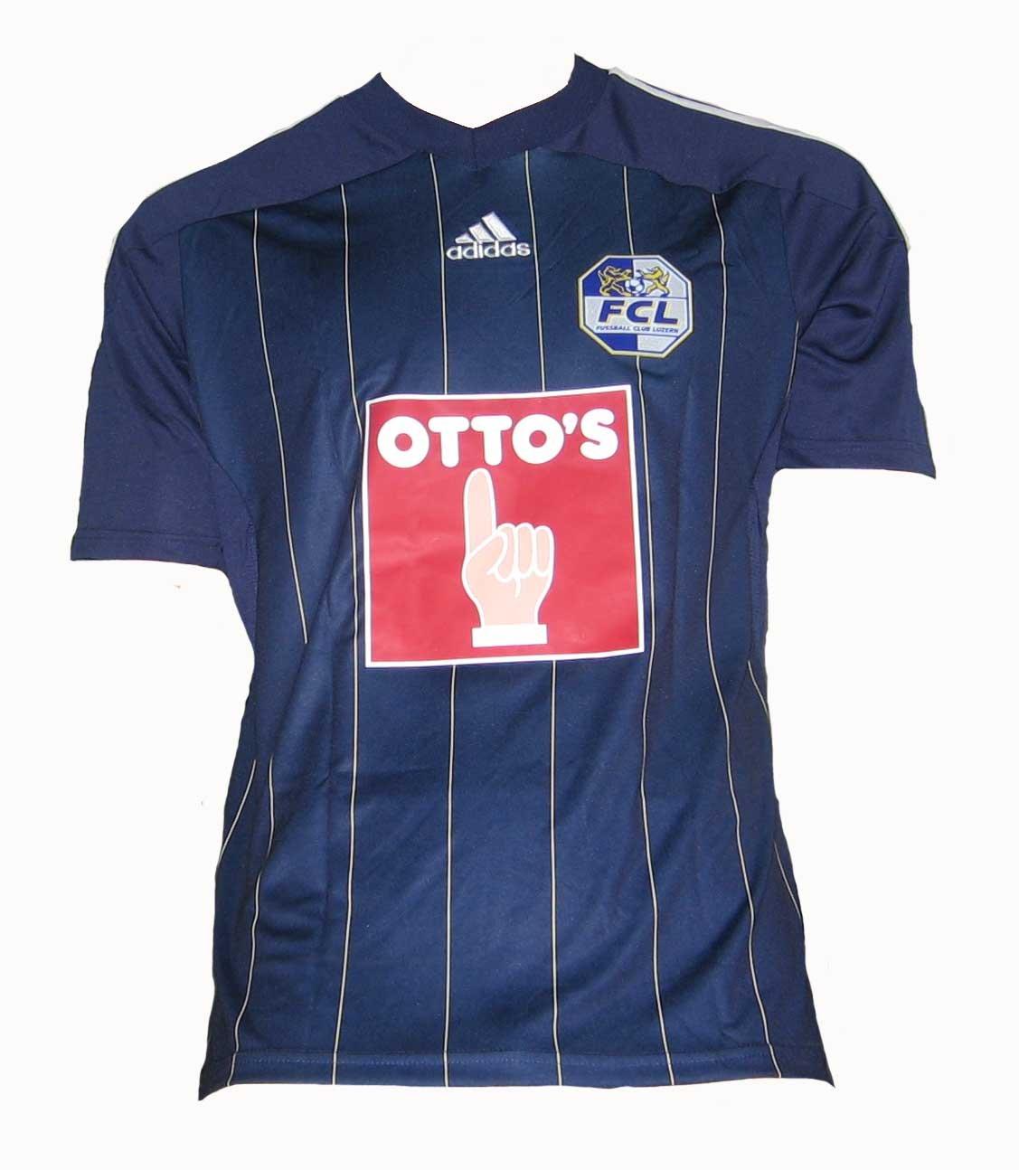 2012-13 FC Luzern Adidas Home Football Shirt