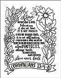 NIV, Beautiful Word Coloring Bible for