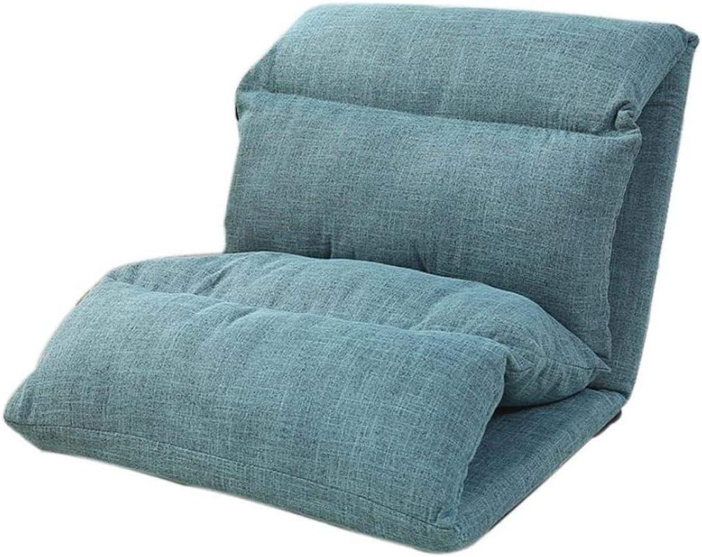 REWD Lazy Chair, Lazy Sofa Single Folding Bed Chair Bedroom