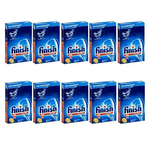 Finish Powder-Lemon Fresh-75 oz (10 pack) by Finish Powder