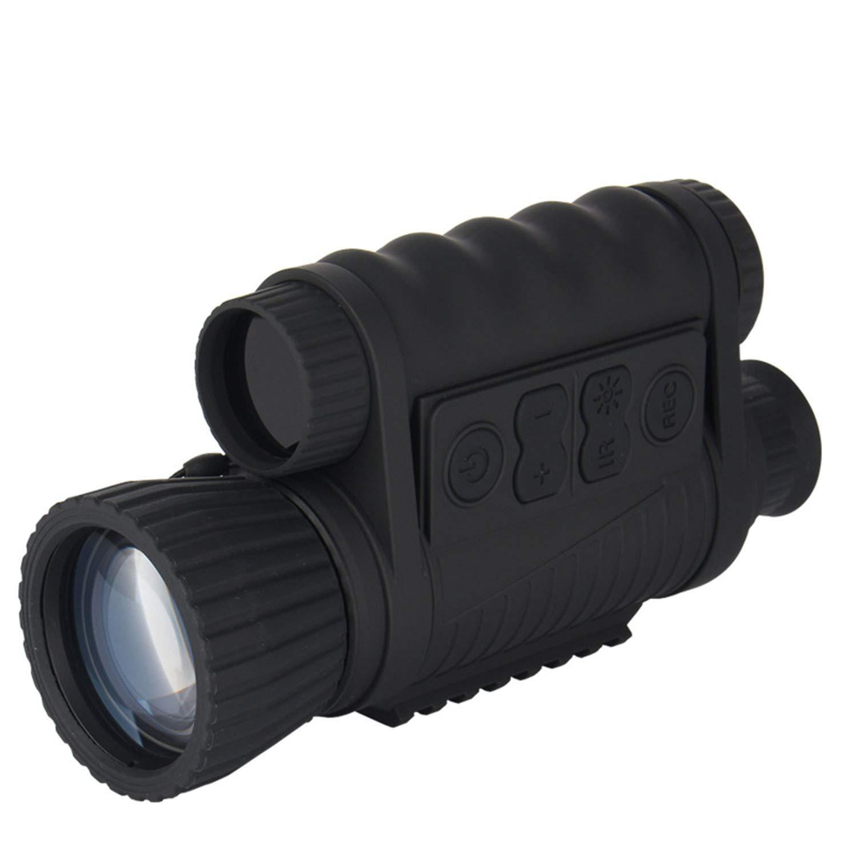 YAMADIE 6X50 HD Digital Monocular Night Vision Device Night Photo Video Hunting Patrol Night Vision Telescope by YAMADIE