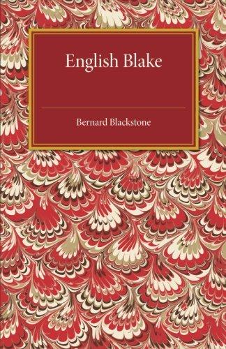 English Blake pdf