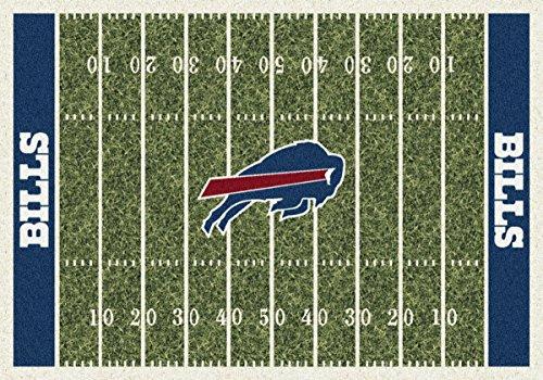 Buffalo Bills NFL Team Home Field Area Rug by Milliken, 7'8