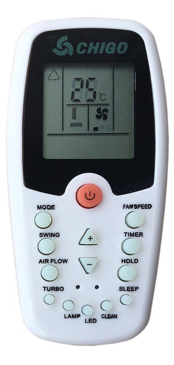 Howell pompa di calore Chigo Telecomando per condizionatore sostituisce solo un modello uguale climatizzatore Whirlpool ZH//EZ-01 aria condizionata