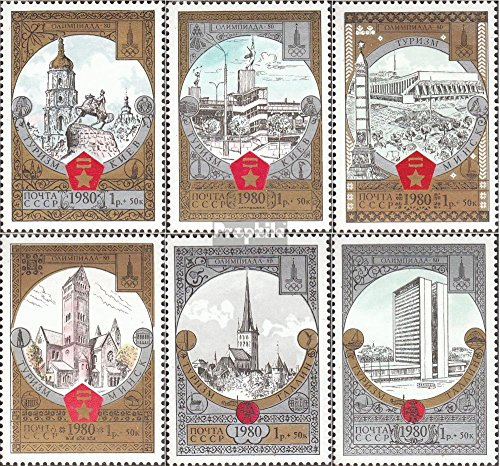 Soviet-Union 4949-4954 (complete.issue.) unmounted mint / never hinged 1980 Olympics Summer (Stamps for collectors)