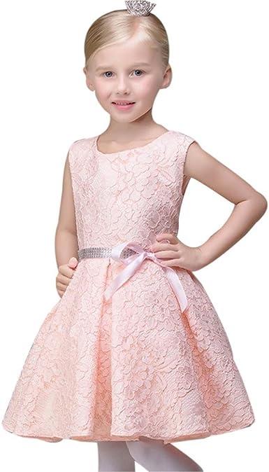 FAMILIZO Vestido de niñas, Niñas Vestido NiñA Vestido De Fiesta De CumpleañOs De Fiesta De Boda Princesa Vestidos: Amazon.es: Ropa y accesorios