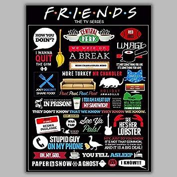 Friends TV Series HD WALLPAPER POSTER