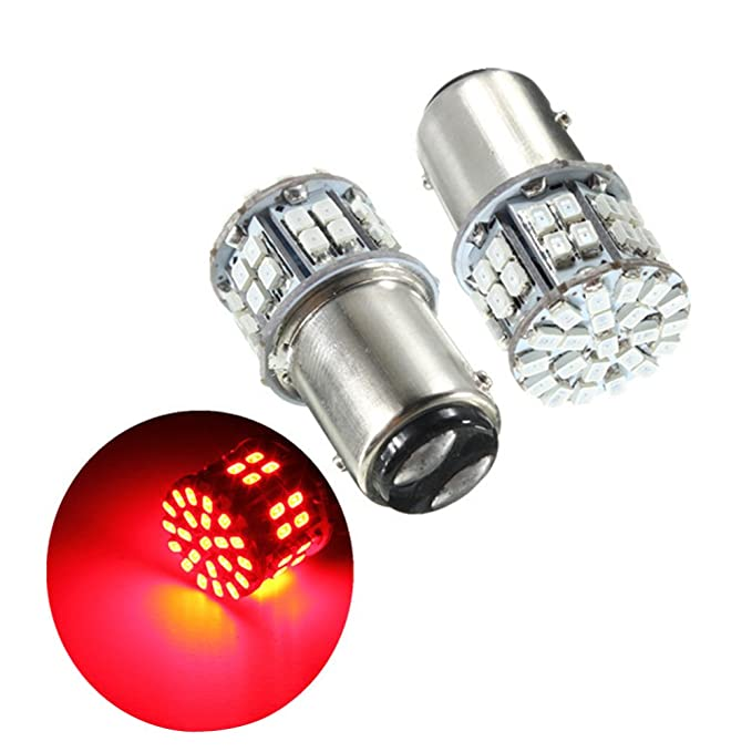 x2 Super Bright 1157 BAY15D 27 LED Car Stop Brake Tail Light Bulbs