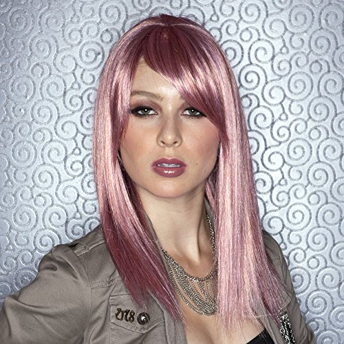 Blush Fortune Fantasy Style Synthetic Wig Pink Venom