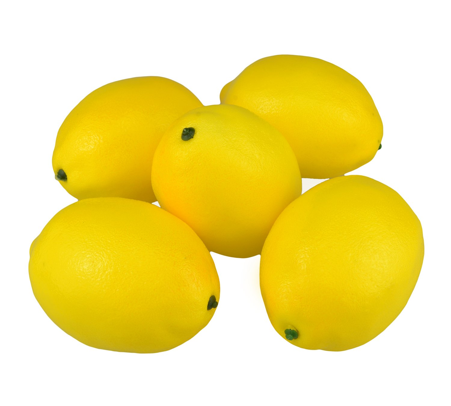 SAMYO-Fake-Fruit-Home-House-Kitchen-Party-Decoration-Artificial-Lifelike-Simulation-Yellow-Lemon-10pcs-Set