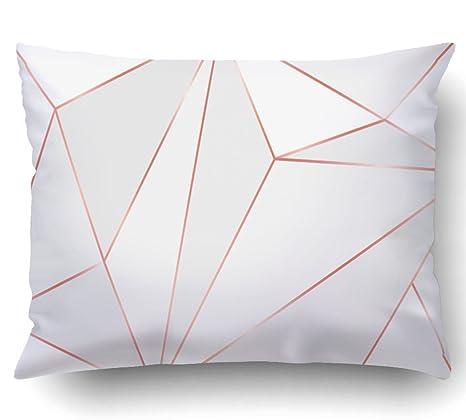 Amazon.com: emvency fundas de almohada decorativo grueso con ...