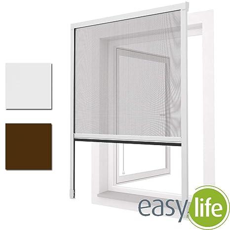 diversifiziert in der Verpackung Treffen unglaubliche Preise Insektenschutz ALU Rollo für Fenster 160 x 160 cm zum klemmen Weiss