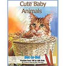 Cute Baby Animals - Dot-to-Dot Puzzles from 150-448 Dots