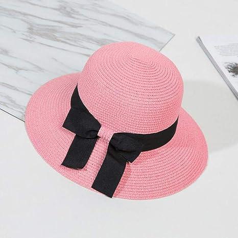 Fxhang Diseño de Gran Arco Sombrero para el Sol Mujer Gorra de ...