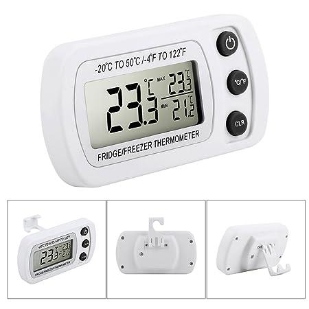 Termómetro para frigorífico, termómetro digital Glamouric para ...