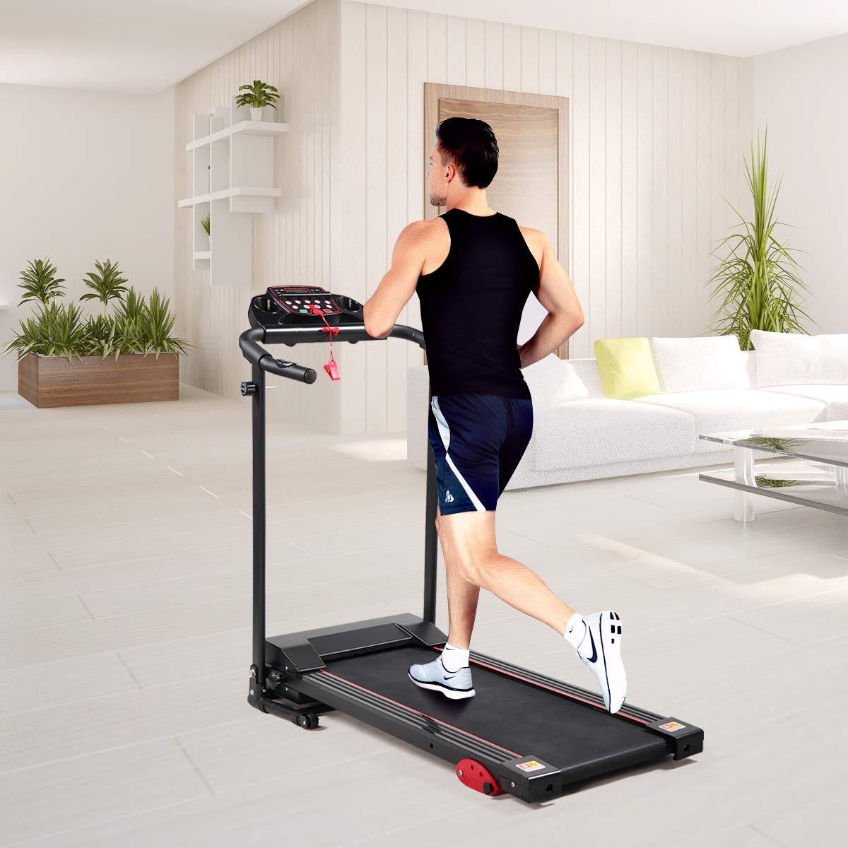 Thegreatshopman Folding Electric Treadmill Power Motorized Running Machine for Home Gym Exercise Walking Fitness