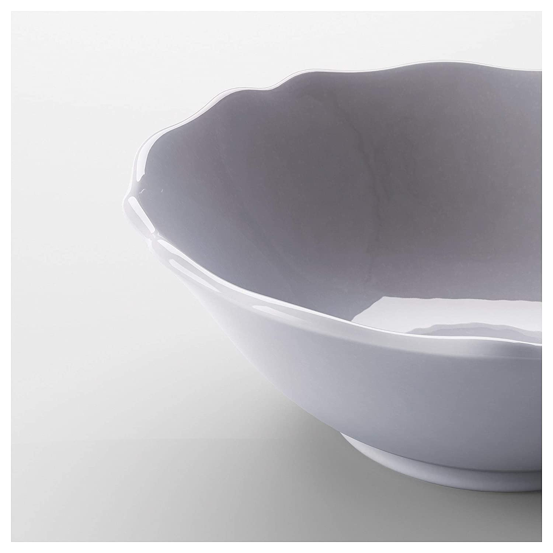 Glazed Earthenware Lilac IKEA 303.519.73 Arv Bowl