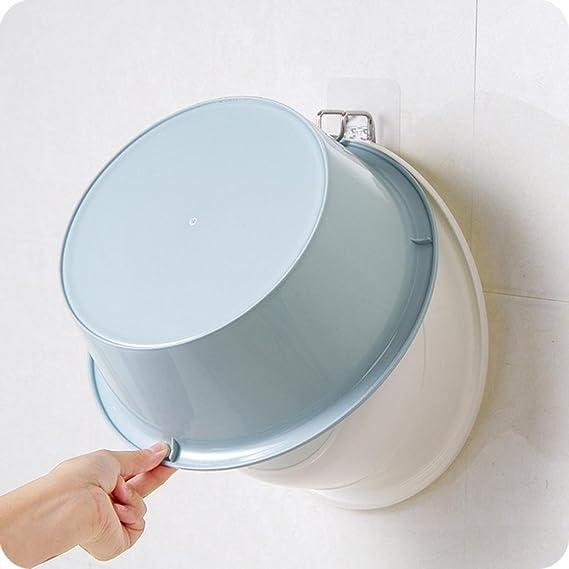 Sujing - Gancho de ducha con ventosa y gancho transparente para el baño, cocina, ventosa y pared: Amazon.es: Oficina y papelería
