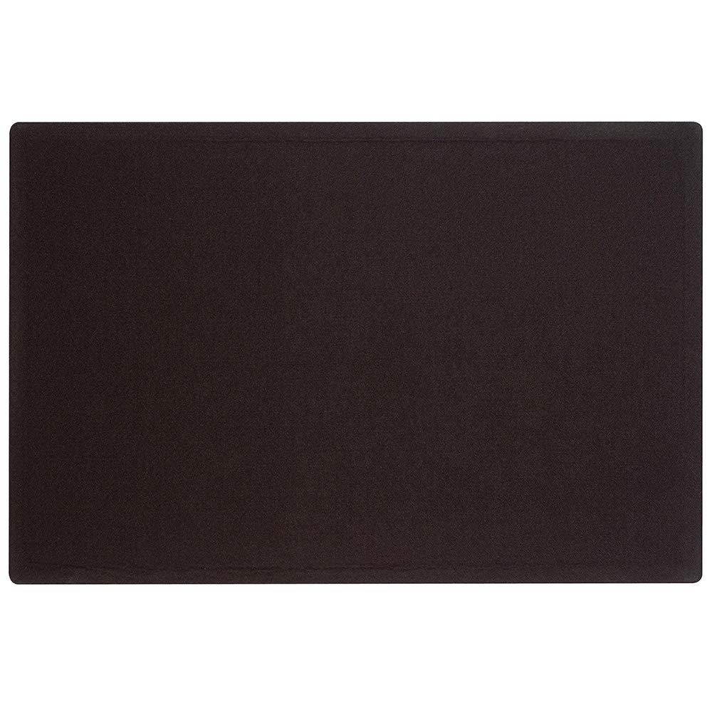 Quartet Bulletin Board, 4\' x 3\', Frameless, Fabric, Black (7684BK) 4' x 3' ACCO Brands