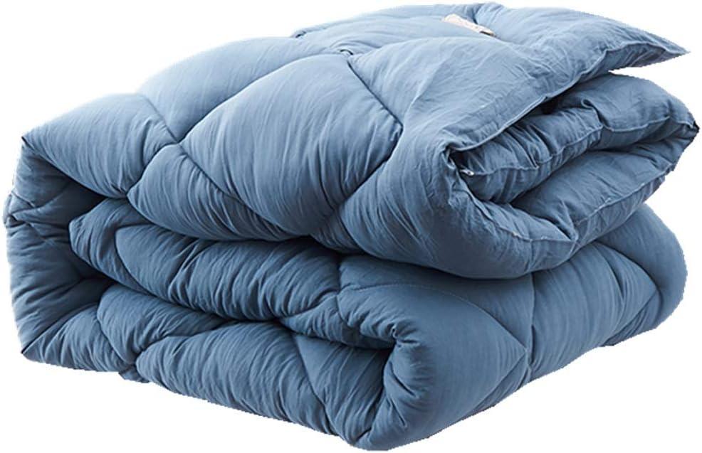 Couleur : #4, taille : 220 * 240cm 3.5kg MMM Quilt dhiver plus /épais Conservez l/édredon chaud Espace de base Coton Double climatisation Literie couchage 2.0m Lit