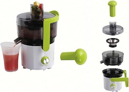 Licuadora verdura y fruta exprimidor jugo vidrio 0,75 litros ...