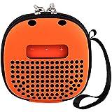 Bose SoundLink Micro Case, Protective Hard Bag Box Cover Case for Bose SoundLink Micro Bluetooth speaker (Orange)