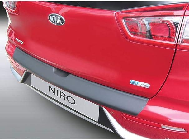 RGM RBP870 ABS - Protector de Parachoques Trasero para Kia Niro 9/2016, Color Negro: Amazon.es: Coche y moto