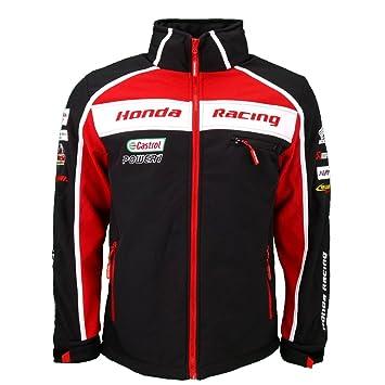 Honda Racing Motos Super británico BSB Soft Shell chaqueta oficial 2016: Amazon.es: Deportes y aire libre
