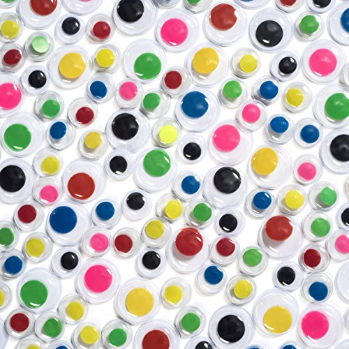 Peachy Keen Crafts 1000 Piece Googly Eyes -