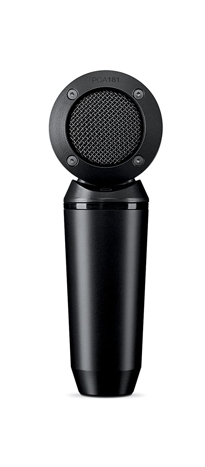 Shure PGA181-XLR Side-address cardioid Condenser Microphone with 15' XLR-XLR Cable Shure Incorporated