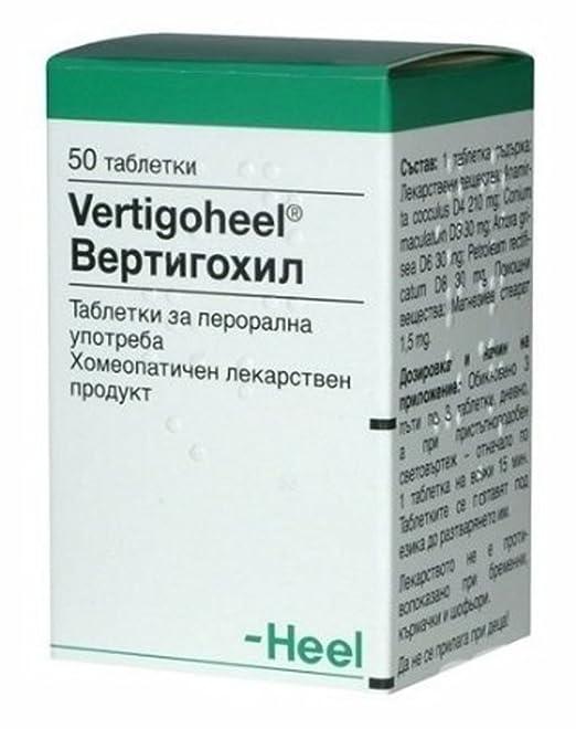 Talón vertigoheel 50 pestañas homeopáticos utilizar para ...